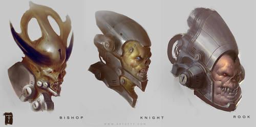 Doom 4 Busts