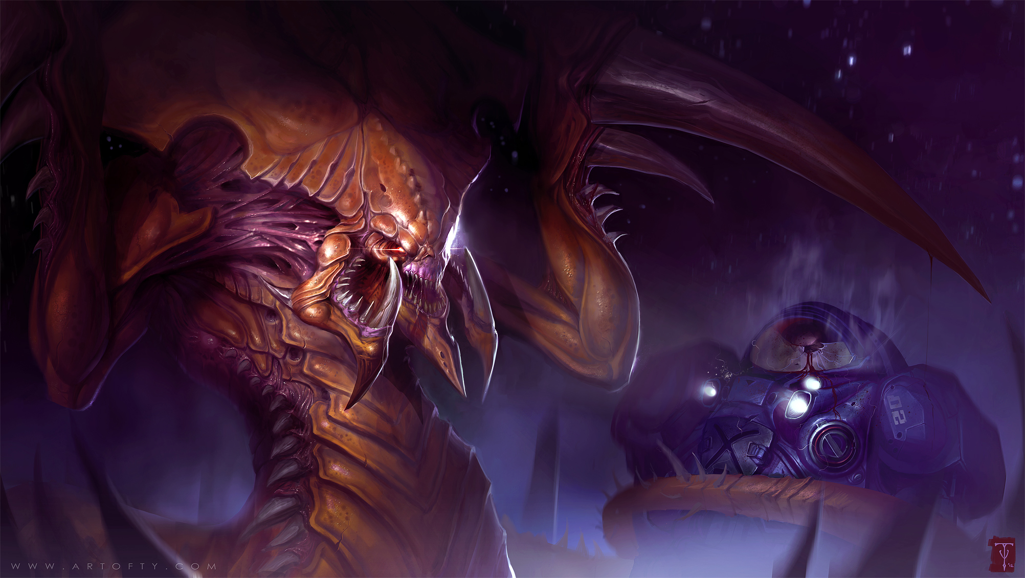 Infinity Seven Takes On The Coming Zerg Invasion By