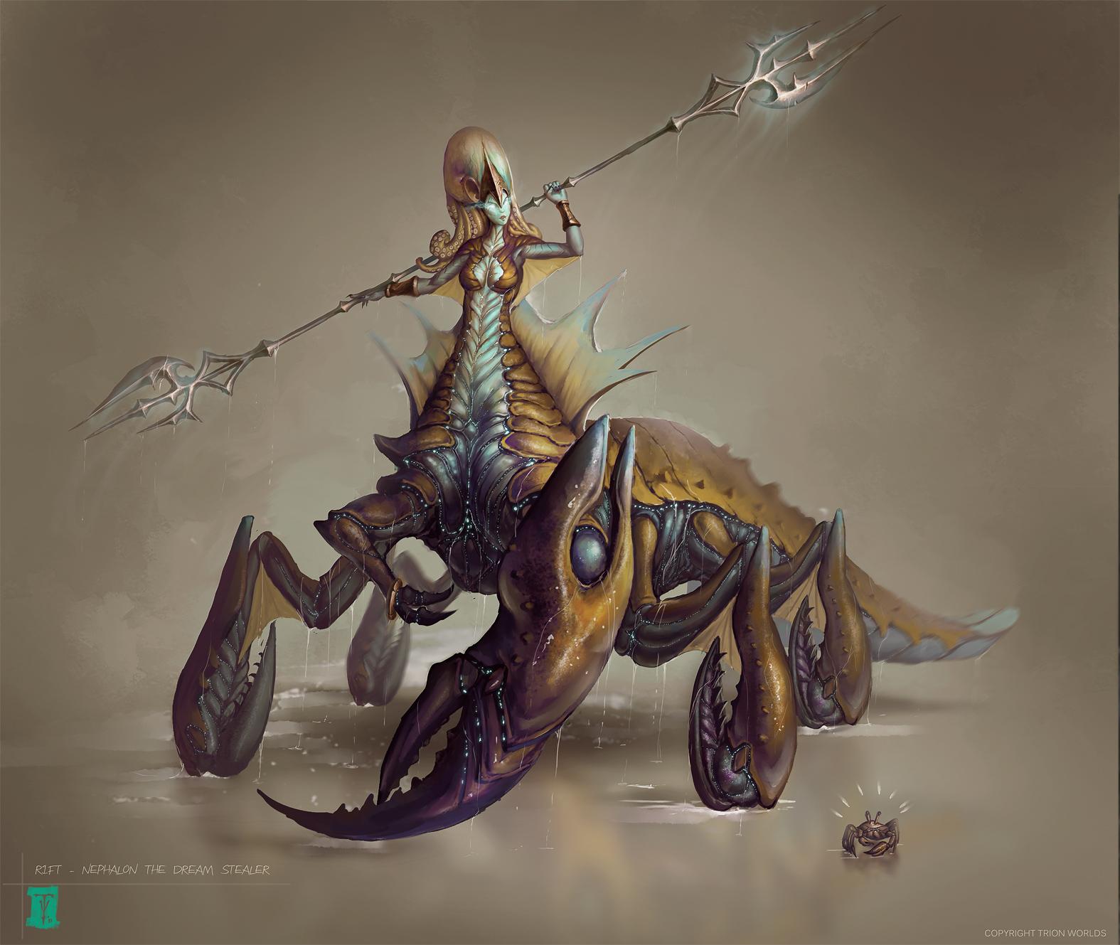 Nephalon the Dream Stealer by ArtofTy