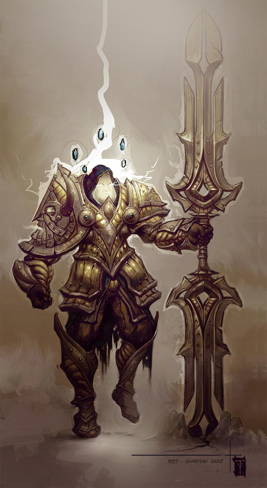 Guardian Saint by ArtofTy