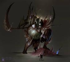 The Shade Giant by ArtofTy