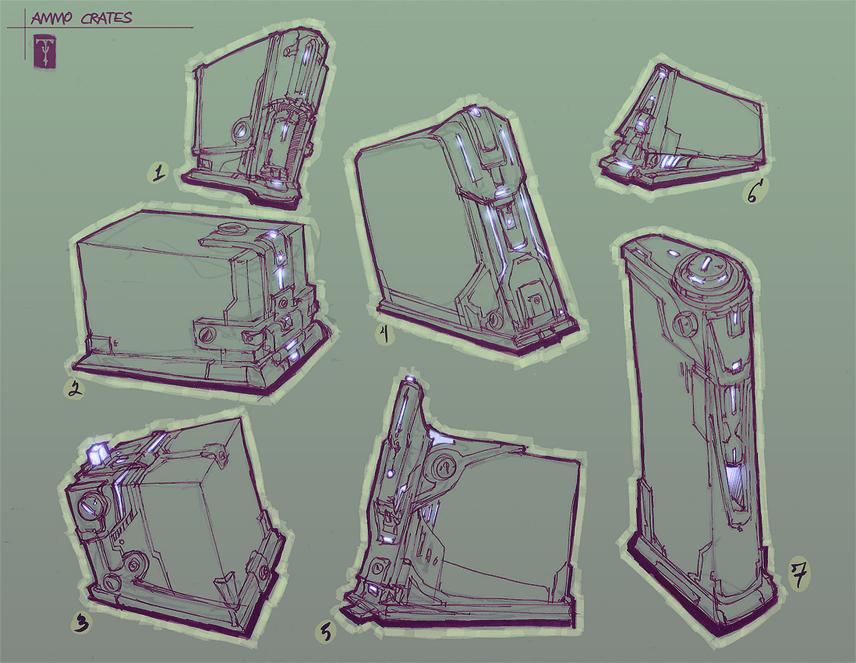 Ammo Crates by ArtofTy