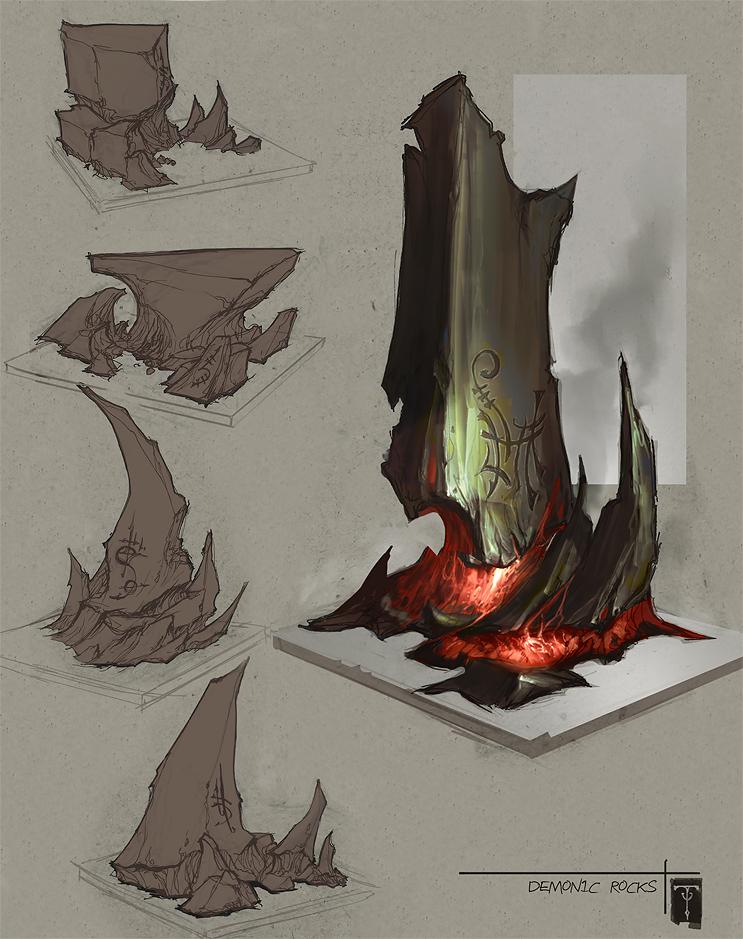 DemonicRocks by ArtofTy