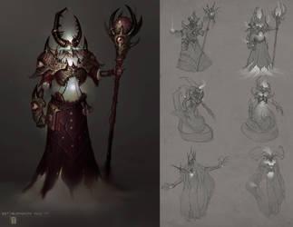 Necromancer Mage Minion by ArtofTy