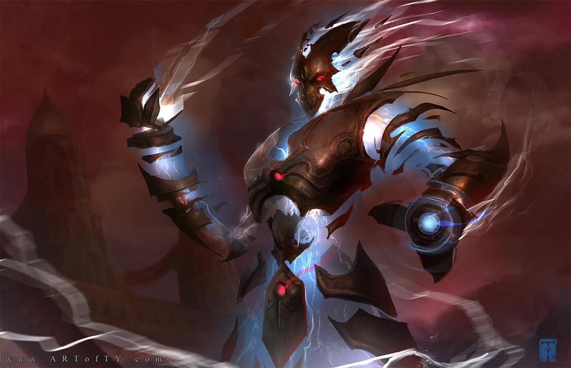 Elemental Race Nivmagus_elemental_by_artofty-d6a4htf