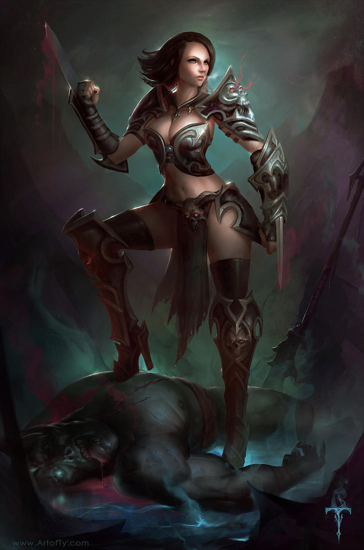 Diablo 3 Assassin by ArtofTy