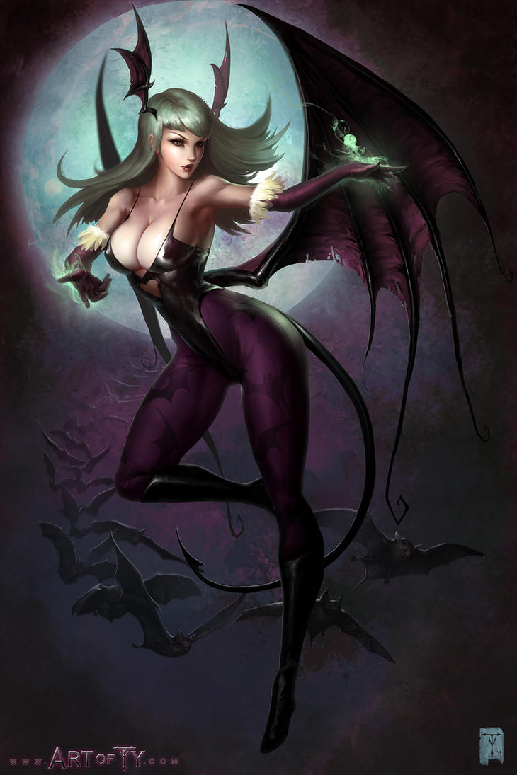Morrigan by ArtofTy
