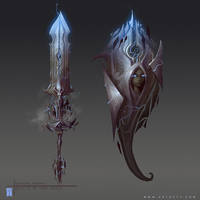 Storm Goddess Weapons by ArtofTy