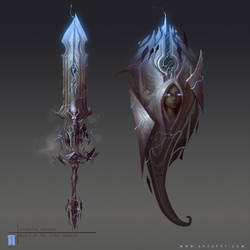Storm Goddess Weapons