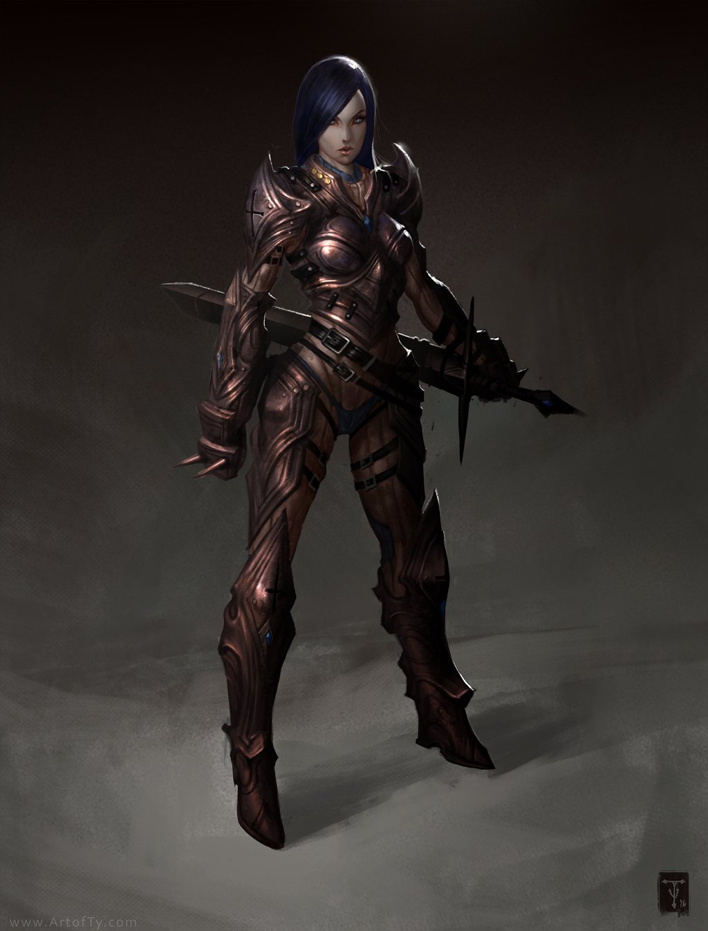 Crusader Jeniva by ArtofTy