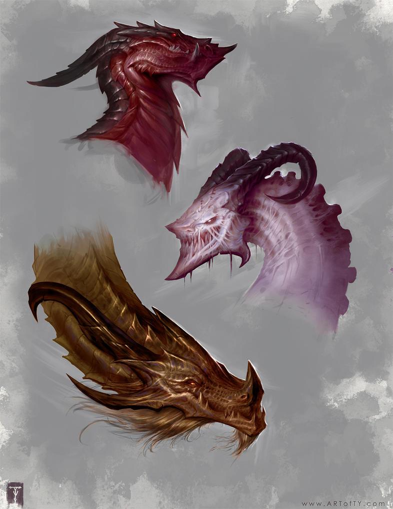 Thar Be Dragons! by ArtofTy