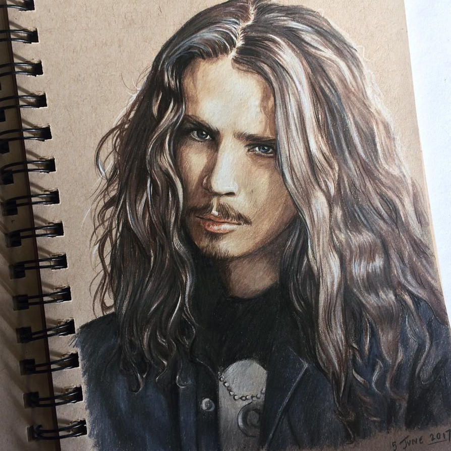 Chris Cornell by RachelDickison on DeviantArt