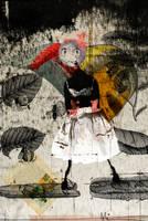 Flying to the moon by zapzoum