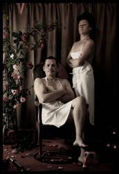 Mr and Ms Butcher by zapzoum