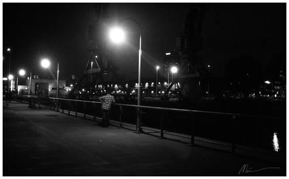 puerto madero at nigth