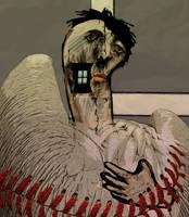 Le pigeon parano detail by zapzoum