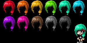 Mixed Hair #2 by Naomi-Kyun