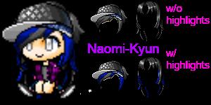 Mixed Hair #5 by Naomi-Kyun