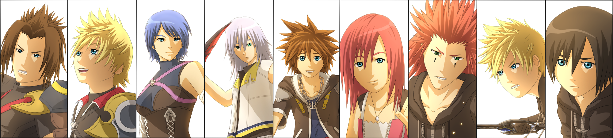 Kingdom Hearts by Chiakiro