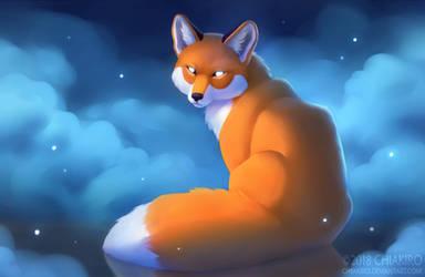 A fox spirit by Chiakiro