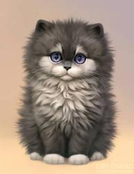 Wolf kitty