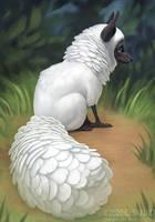 Feather creature