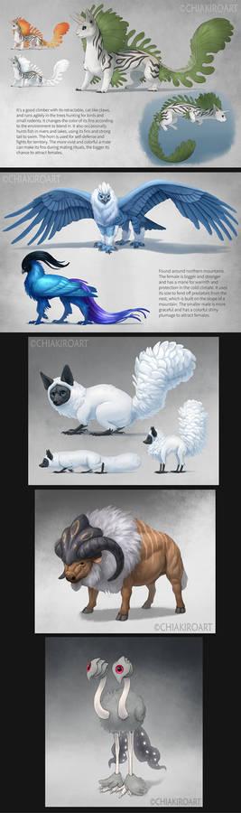 Creature Designs 2