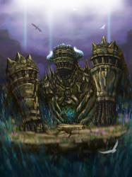 12th colossus/Pelagia by dzetaWMDunion