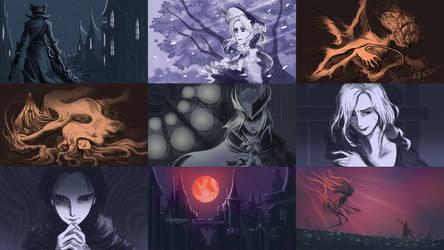 Bloodborne X Rurouni Kenshin Opening 2 [Animatic]