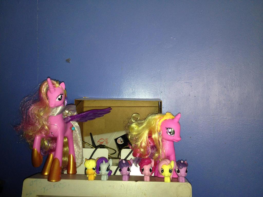 My my little pony  my stuff by MrsArmstrong1GDFreak