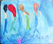 Eric and Ariel and  Belle and Adam by MrsArmstrong1GDFreak