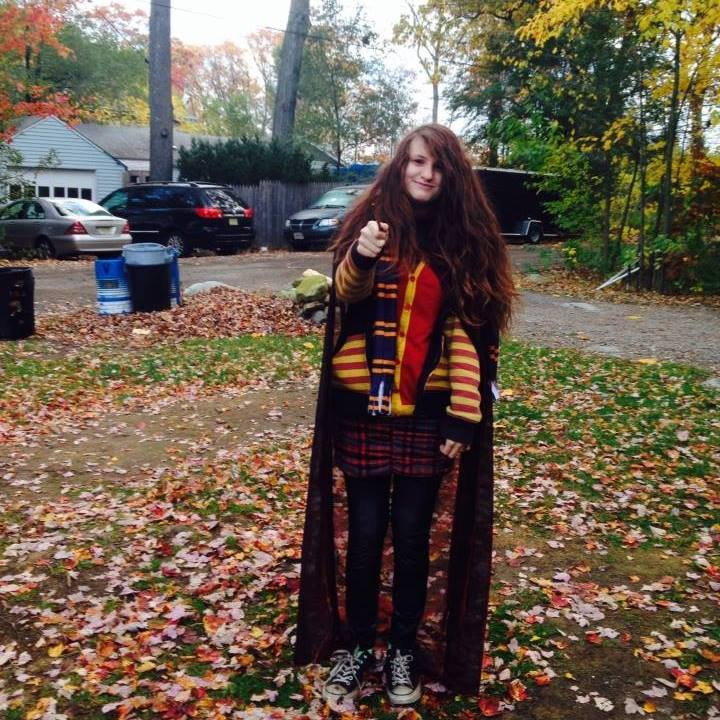me as Ginny Molly Weasley by MrsArmstrong1GDFreak