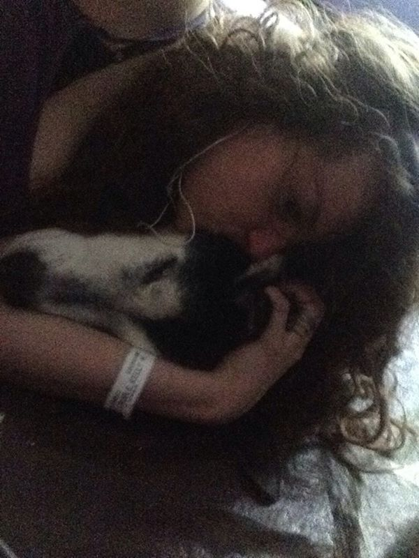 this a picture of me and my dog by MrsArmstrong1GDFreak