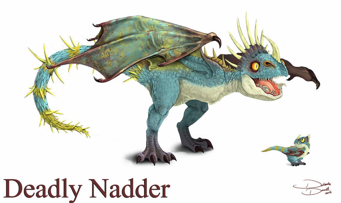 Nadder By Voltaic-Soda On DeviantArt