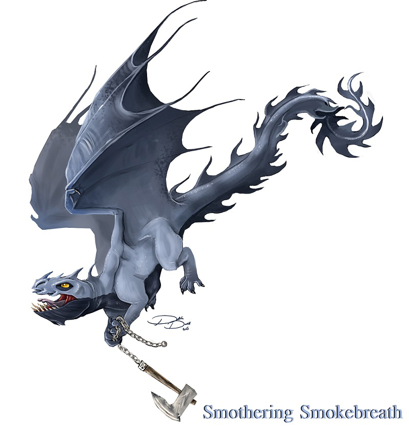 Smokebreath by Voltaic-Soda on DeviantArt
