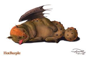 Oaf of A Dragon by Voltaic-Soda