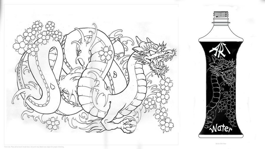 dragon black by tonywave33