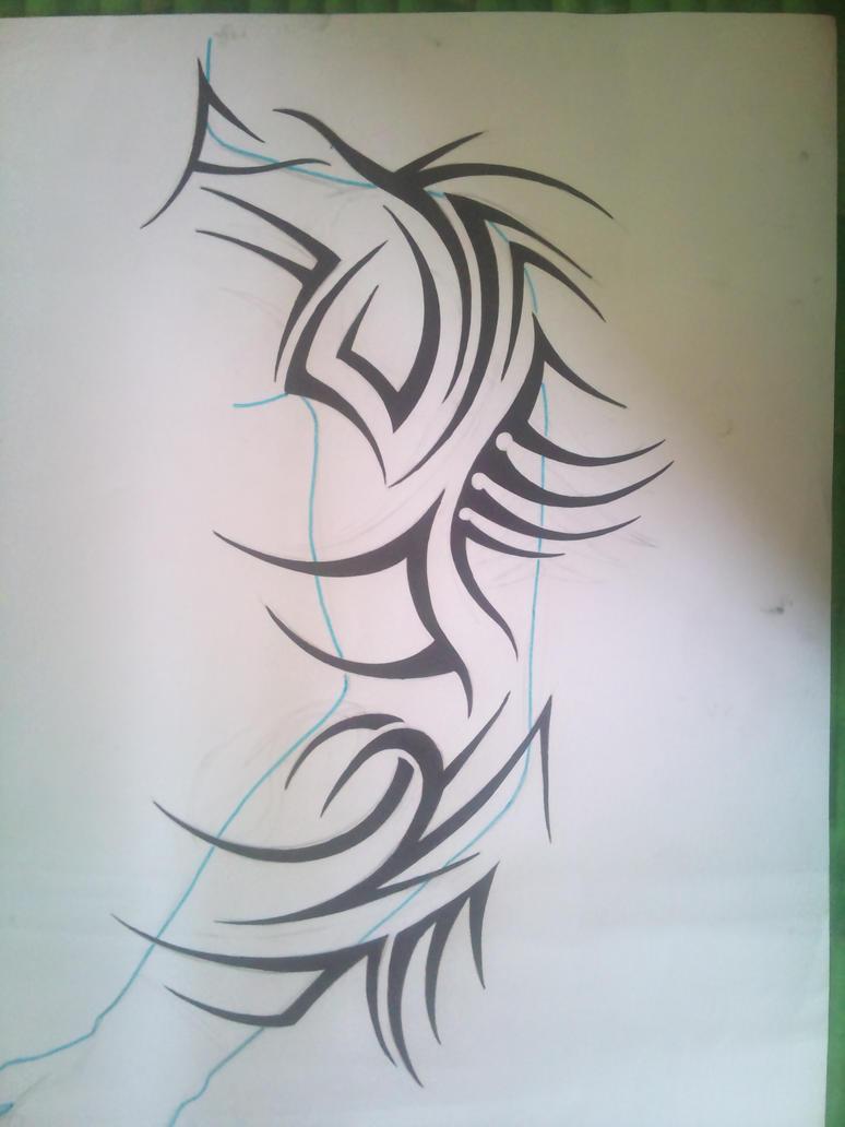 Gideon 'Macabre' Sangyama Tribal_full_sleeve_by_tonywave33-d4yzm0n