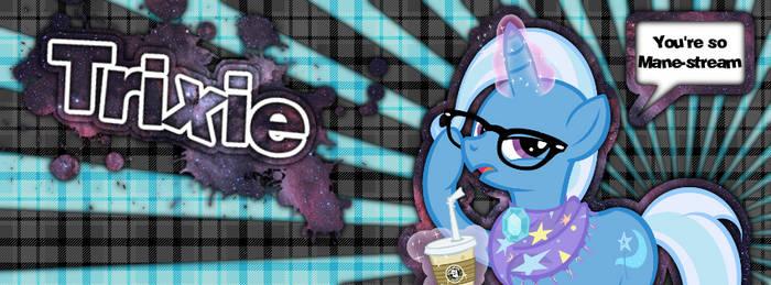 Trixie - You're So Mane-Stream (Facebook Cover)