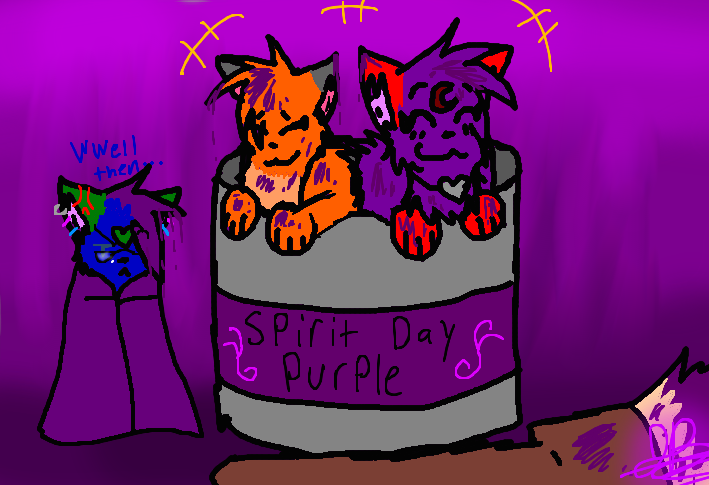 ~Spirit Day Purple~ by BBSMJ