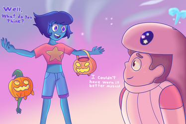 Lapis' First Halloween! by REMcMaximus