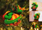 Ornament Dragon by M1rror42