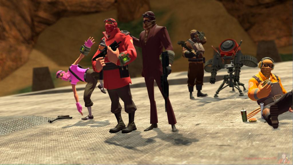 RvB - Red Team by SagaHanson25