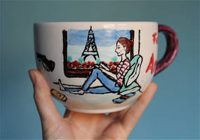 A cup full of illustration