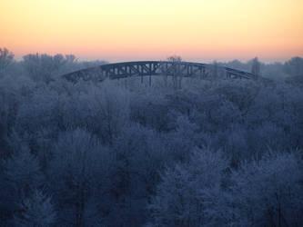 Winter Bridge by D-FAULT