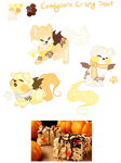 MYO Soosh- Candycorn Crispy Treat by BlackSapphireXx