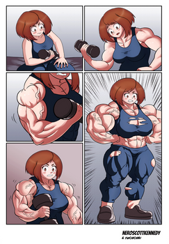 My Muscle Academia ( Part 1) by NeroScottKennedy