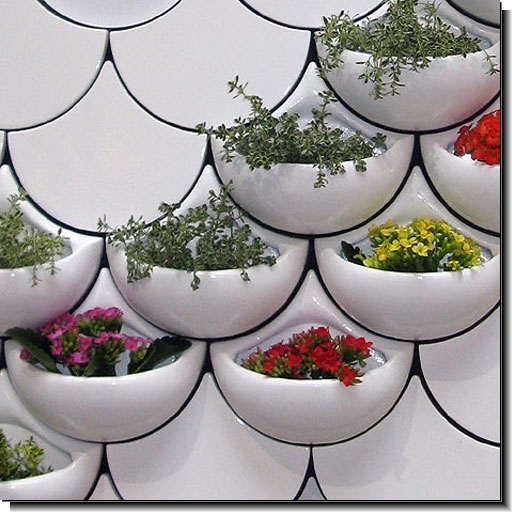 Vertical planters for small gardening spaces by - Planters for small spaces ...