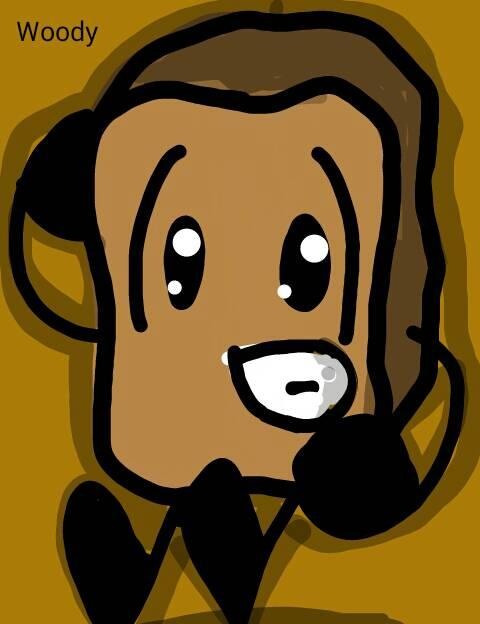 BFDI: Woody by Qartoons2003 on DeviantArt