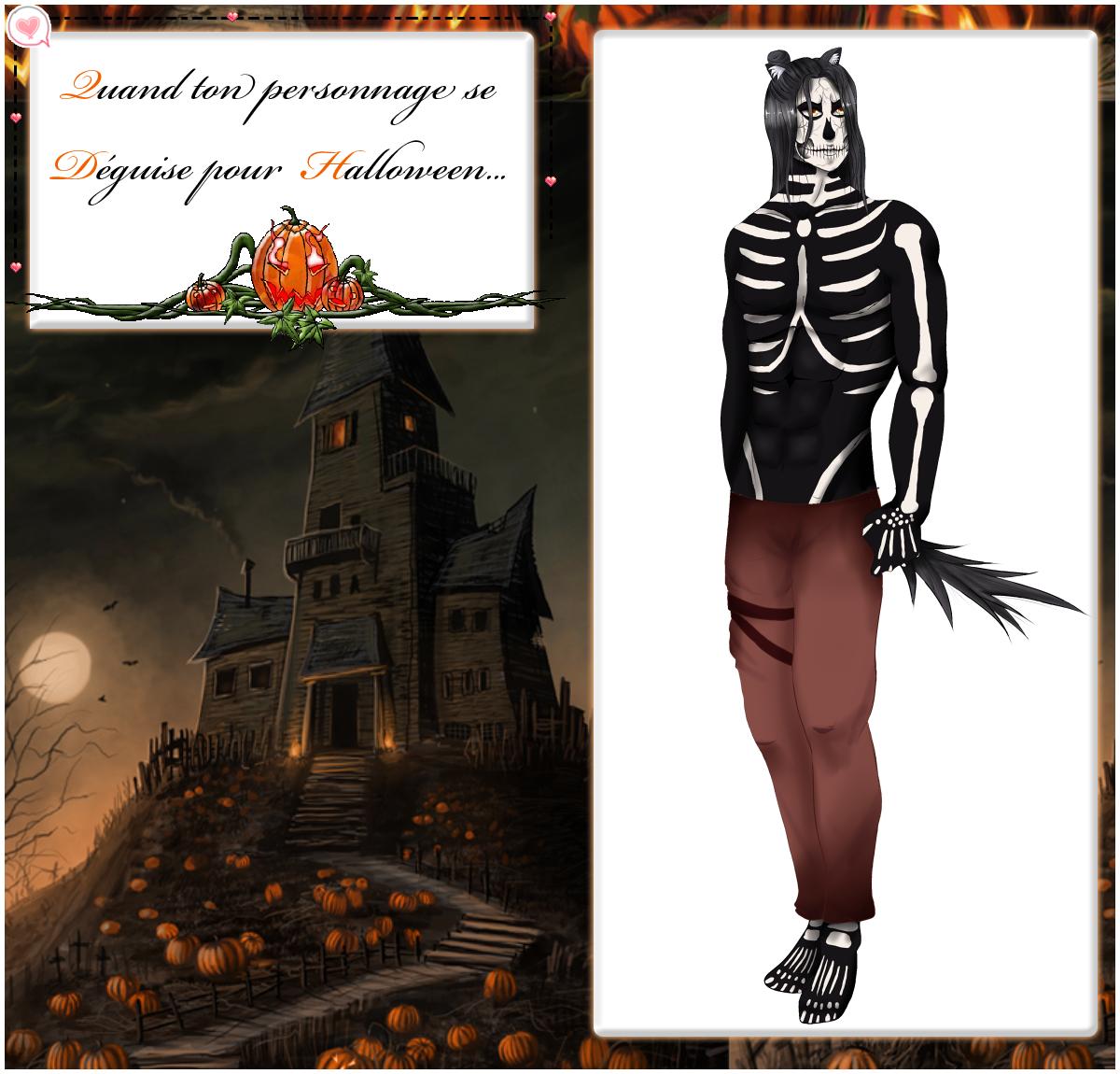 CR ~ Tenue Halloween de Thanatos by Kimkim-A
